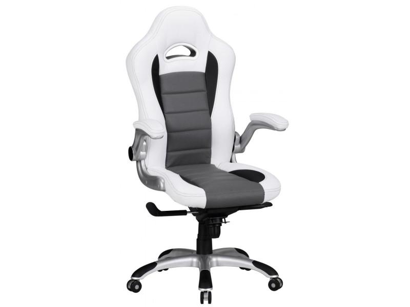 Salle gris tissus bois clair capitonne chaise beige rouge pour