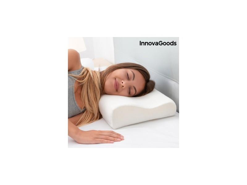 Lot X 2 Oreiller Memoire De Forme Ergonomique Coussin Total Confort Cervicale Bedding Bed Pillows
