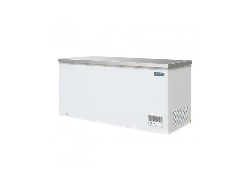 Congelateur coffre avec couvercle inox - 516 litres - polar - r290