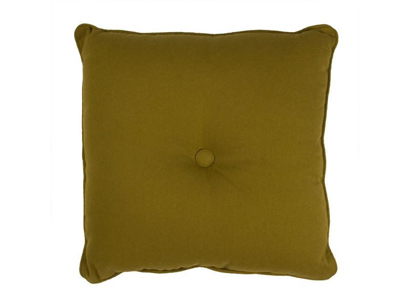 Jazz - coussin 100% coton vert mousse 40x40