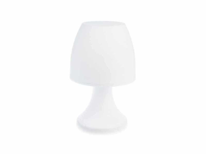 Lampe champignon à poser 27 cm - variation de couleur