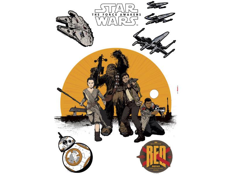 Stickers géant résistance star wars episode vii