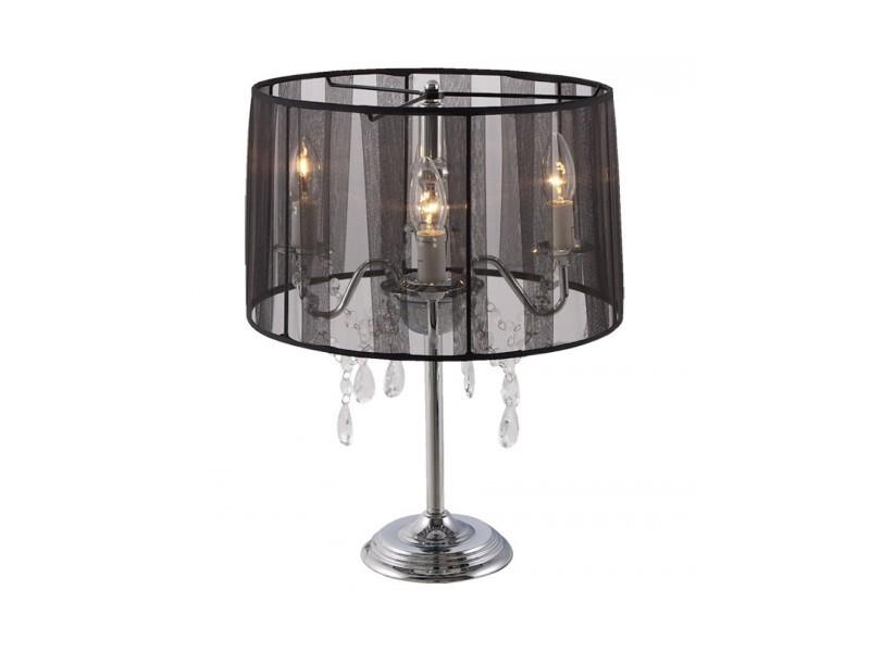 lampe de chevet baroque noir vente de lampe conforama. Black Bedroom Furniture Sets. Home Design Ideas