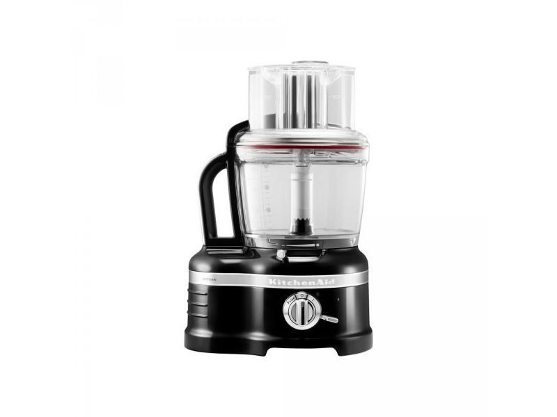 Kitchenaid robot ménager artisan 4 litres noir onyx 5kfp1644eob