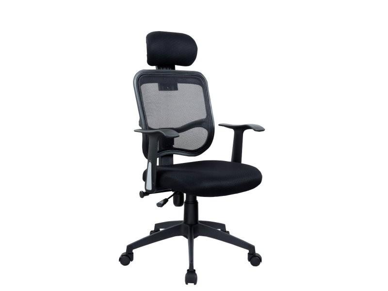 Fauteuil chaise de bureau ergonomique avec appuiette helloshop26