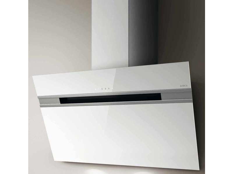 Hotte décorative 757m³/h elica 89.8cm b, stripe wh a 90 lx CDP-PRF0100995C