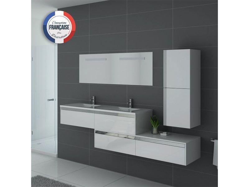 meuble de salle de bain bellissimo blanc vente de. Black Bedroom Furniture Sets. Home Design Ideas