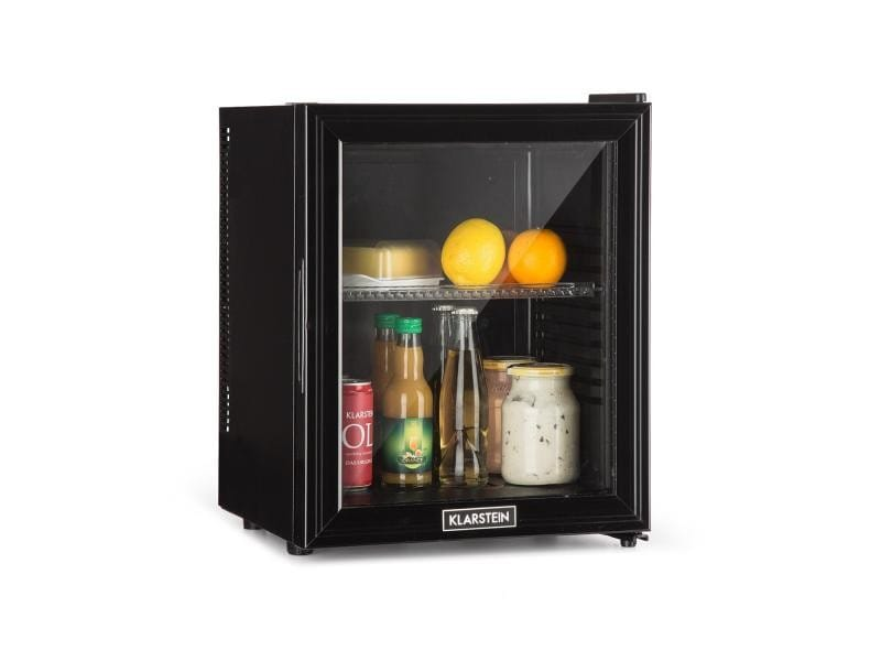 Klarstein brooklyn réfrigérateur minibar compact 24 litres 0db classe a - noir