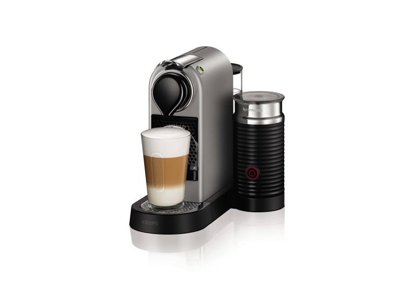 Krups - xn760b - cafetière nespresso citiz et milk titan 19 bars XN760B