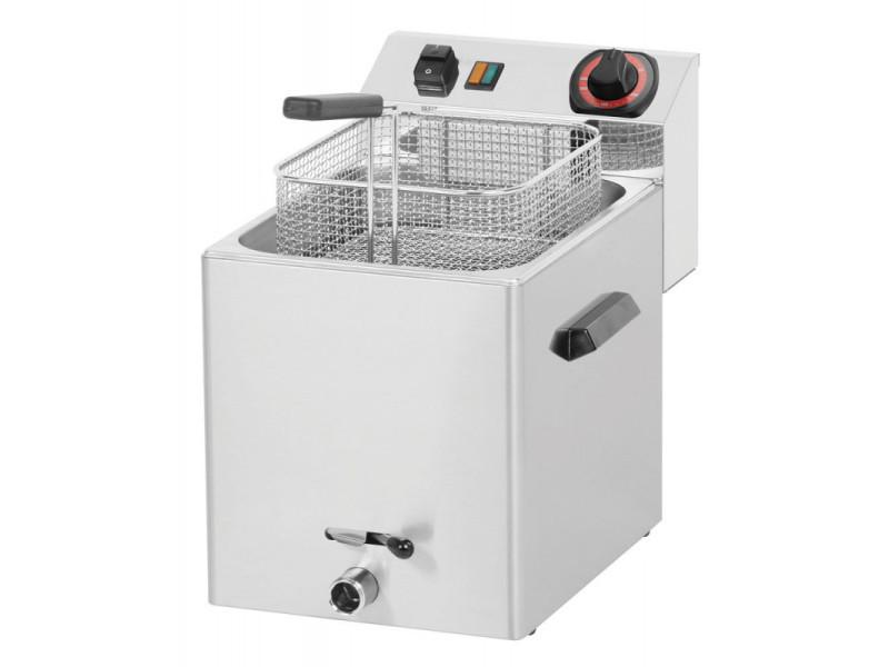 Friteuse électrique à poser 8 litres avec robinet de vidange - fe07vs