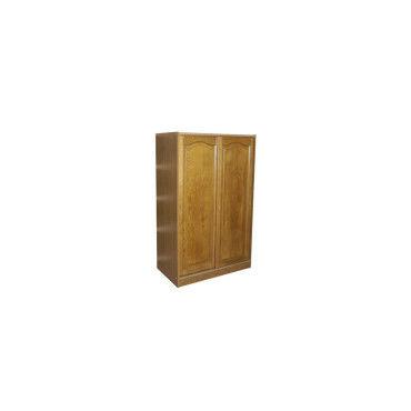 armoire rustique 2 portes ch ne 1683 vente de dressing conforama. Black Bedroom Furniture Sets. Home Design Ideas
