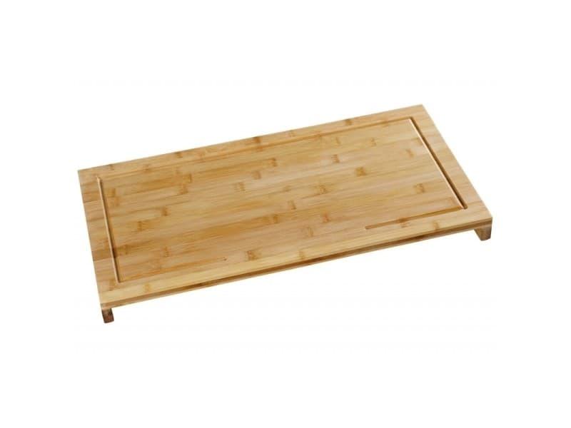 Planche à découper surélevée - 54 x 28 x 4,3 cm - bambou