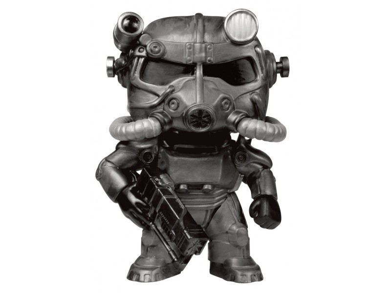 Figurine Fallout Vinyl Cm Power 60 T Armorblack9 PopGames eDI92YWEH