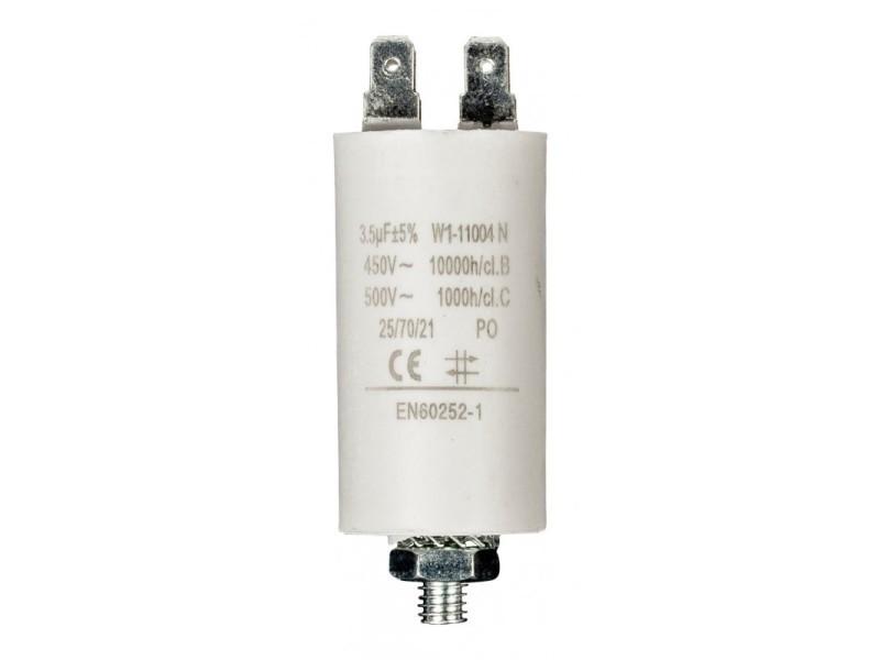 Condensateur 3.5uf / 450 v + terre