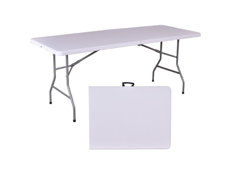 Tables de jardin admirable table de jardin pliante en résine - 180 cm
