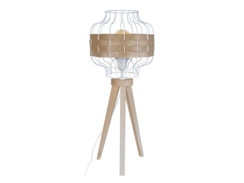 25; Lumières ; Tressé A Poser1 Naturel Tosel Lampe Rangoon 6gyYb7f