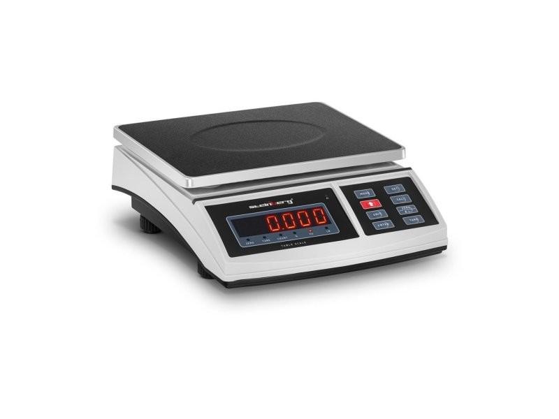 Balance de table cuisine pèse aliment - 30 kg / 1 g - 21 x 27 cm - led helloshop26 14_0000613