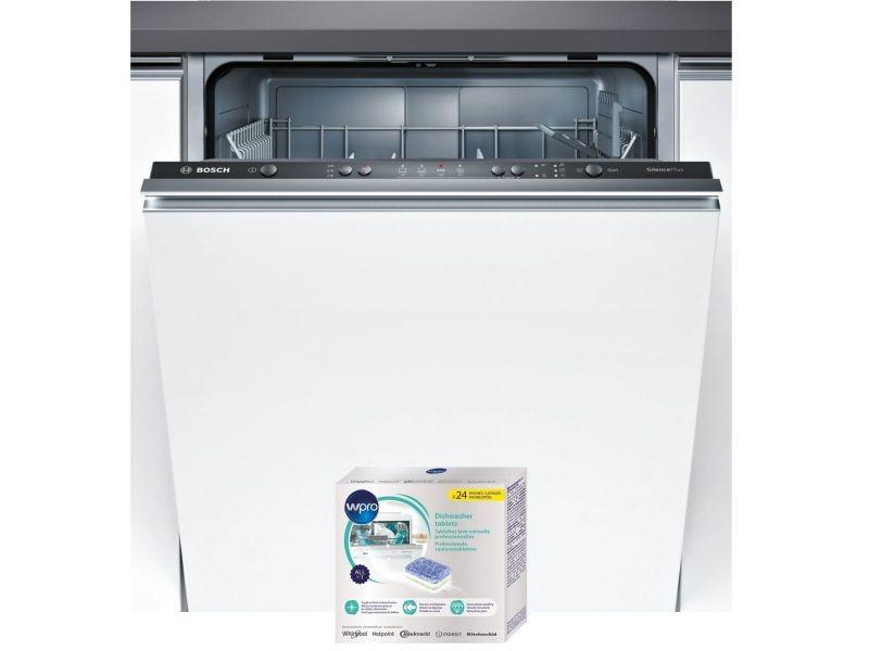 Lave-vaisselle tout integrable encastrable 48db a+ 12 couverts 60cm aquastop