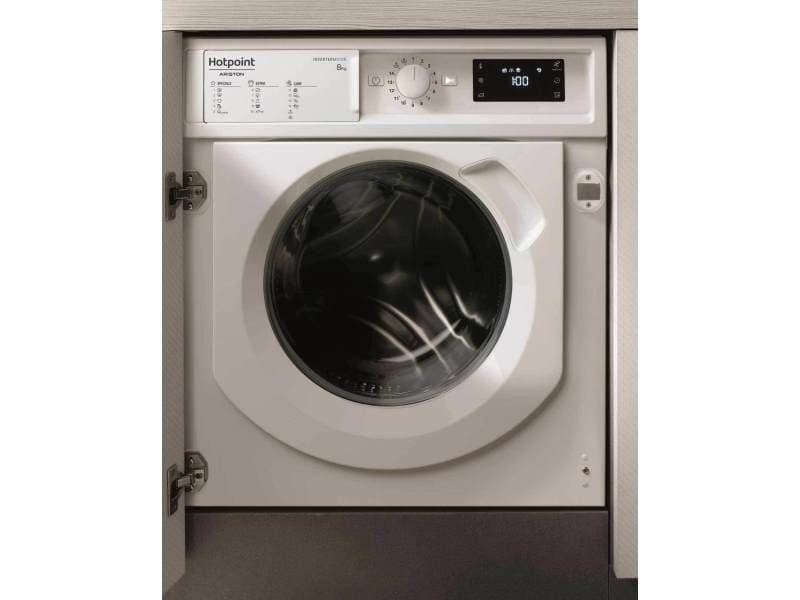 Lave linge integrable hotpoint-ariston biwmhg 81484 eu