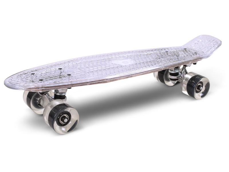 Skateboard à led skatus transparent Skateboard LED Transparent