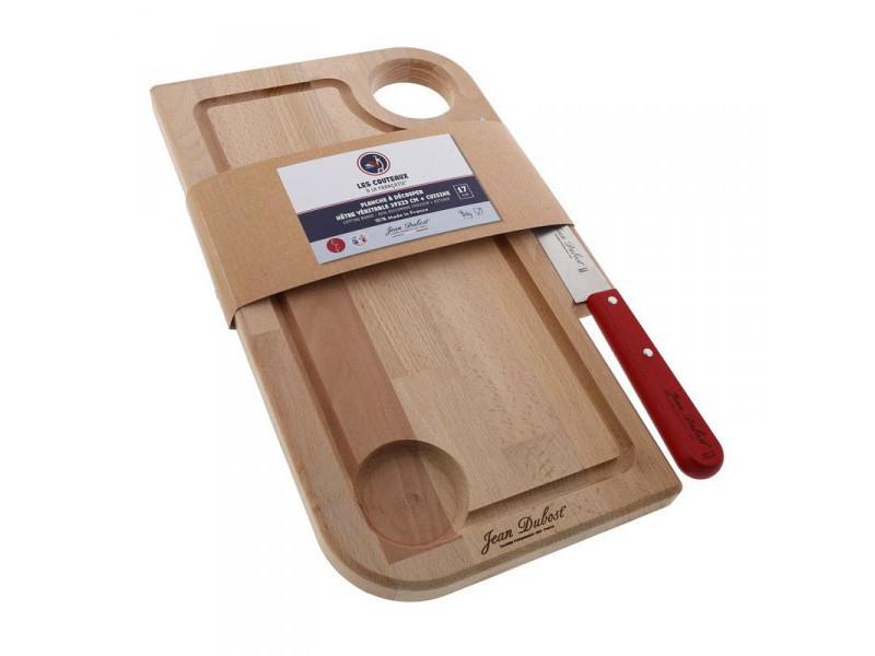 Jean dubost planche 39 x 23 cm + 1 couteau de cuisine