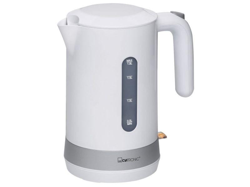 Clatronic bouilloire sans fil 360° wk 3452 (blanche) 407264