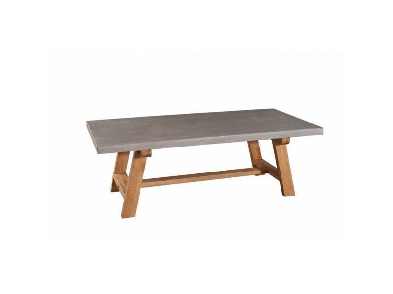 Table basse béton nino en chêne style industriel 20100859248