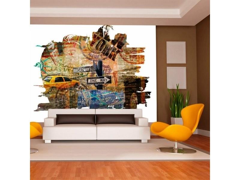 Papier peint new york collage A1-LFTNT0683