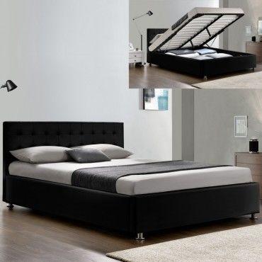 lit adulte complet sommier relevable t te de lit cadre. Black Bedroom Furniture Sets. Home Design Ideas