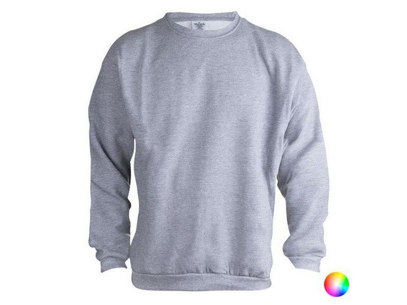 Sweat-shirts de sport stylé couleur jaune taille xxl sweat sans capuche unisex 145864
