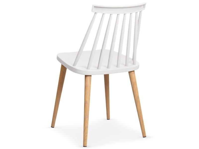 Lot Chaise De 2 Conforama Chaises Stella Vente Scandinaves