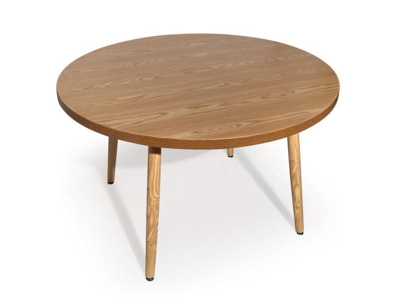 Table Ronde Scandinave Nora Frene Vente De Table Conforama