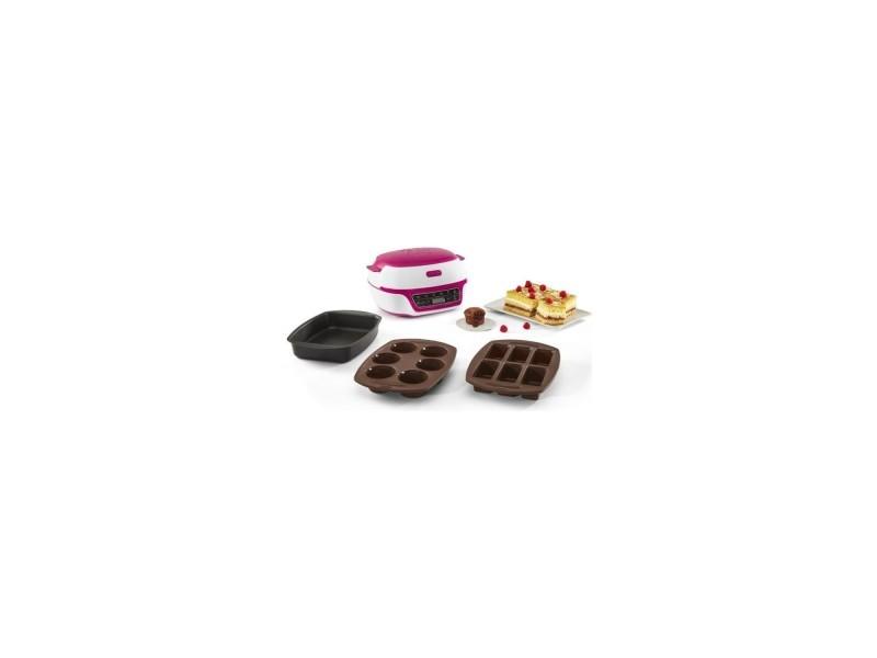 Tefal kd801812 cake factory, machine a gâteaux intelligente, appareil de cuisson convivial, moules muffins, mini-cakes, grand gâteau TEF3016661151408