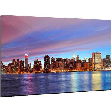 Tableau New York La Magnifique Phot43alu12080 2 Vente De Recollection Conforama