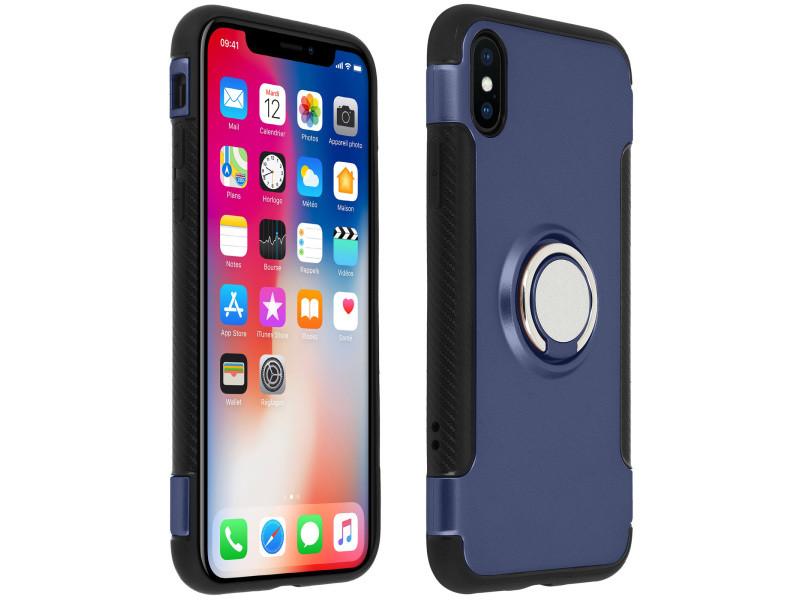 coque iphone xs bleu nuit