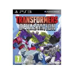 Transformers : devastation jeu ps3