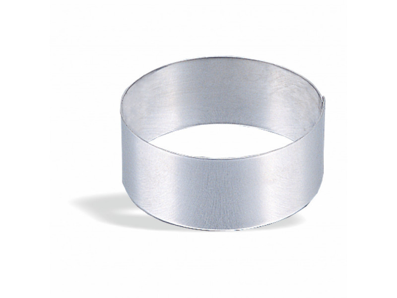 Cercle à vacherin inox ø 6 à 30 cm - pujadas - inox série 200 18 (ø) cm
