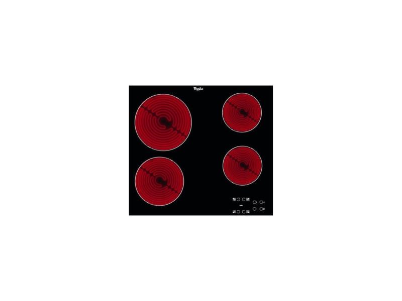 Whirlpool akt 8090/ne plaque noir intégré (placement) céramique 4 zone(s) WHIRAKT8090NE