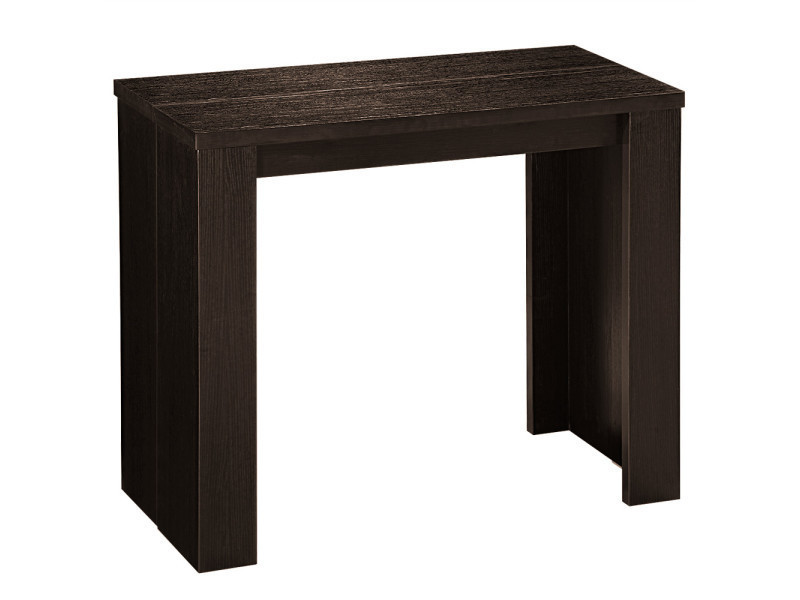 table console extensible simply 3 rallonges wenge vente de table conforama. Black Bedroom Furniture Sets. Home Design Ideas