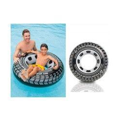 Bouée gonflable pneu