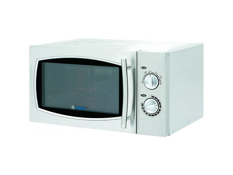 Four micro-ondes inox 5 niveaux de puissance 900 w - stalgast - 2500 cl