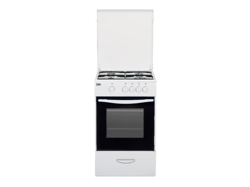 Cuisinière à gaz beko csg 42009 dw blanc 85x50x50 CSG42009DW