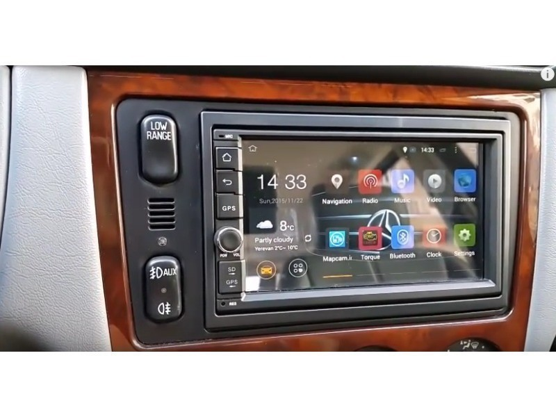 autoradio gps mercedes ml w163 android vente de. Black Bedroom Furniture Sets. Home Design Ideas