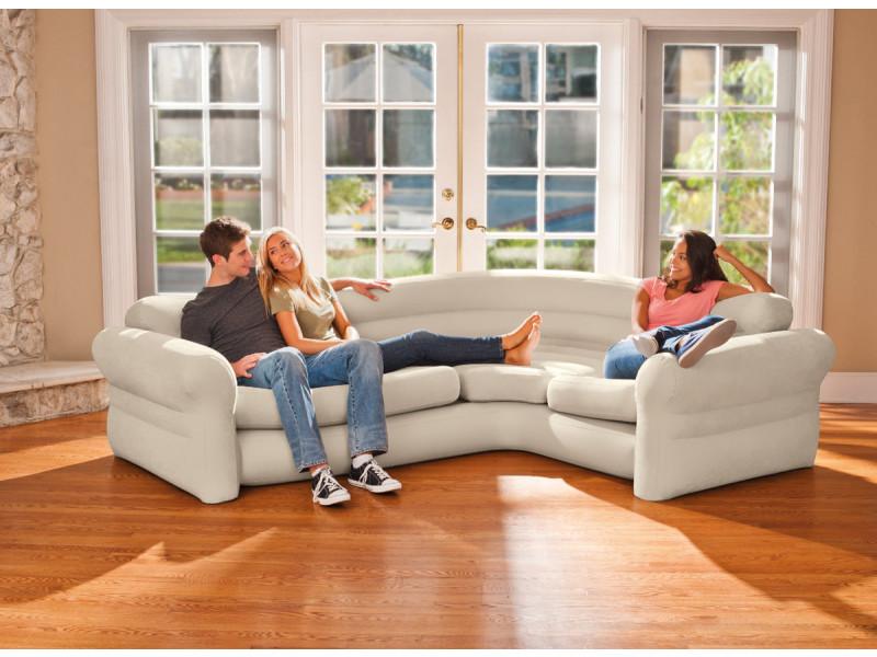 Canapé sofa d'angle gonflable - intex