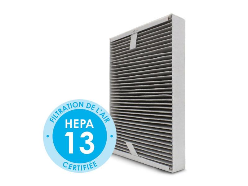 Filtre hepa + charbon actif pour purificateur d'air lendou