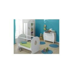 Chambre bébé lutin lit plexiglas