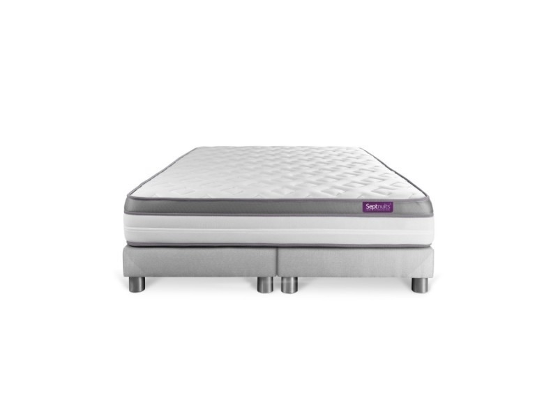matelas 160x200 double sommier 80x200 memo zen mousse m moire de forme 5 zones de confort. Black Bedroom Furniture Sets. Home Design Ideas