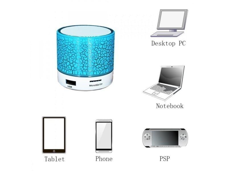 mini enceinte bluetooth portable micro lumiere sd aux usb vente de non pr cis conforama. Black Bedroom Furniture Sets. Home Design Ideas