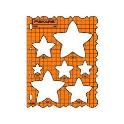 Fiskars - gabarit de découpe étoiles