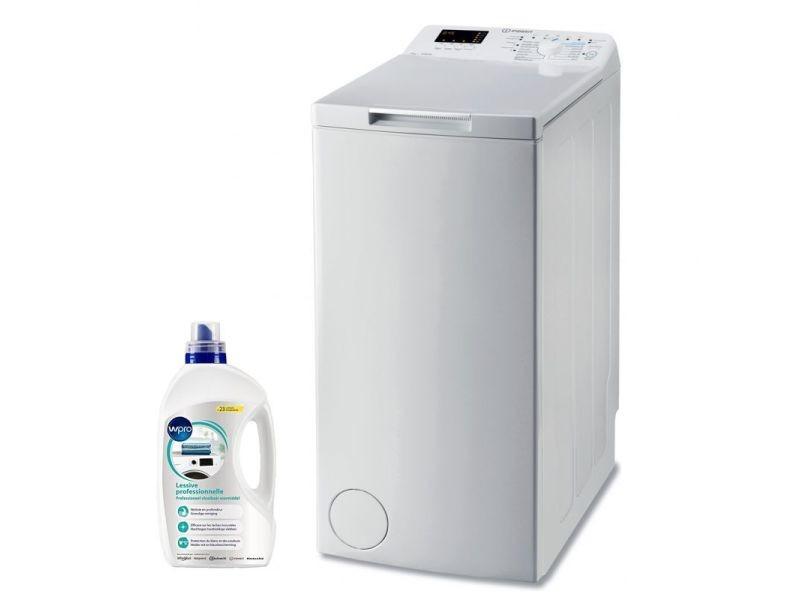 Indesit lave-linge top 7kg 1200trs/min a+++ 14 programmes machine à laver